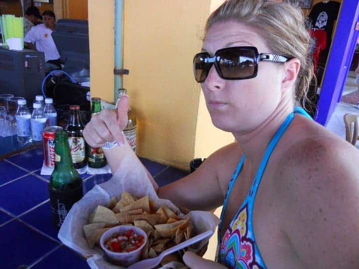chips and salsa in mexico