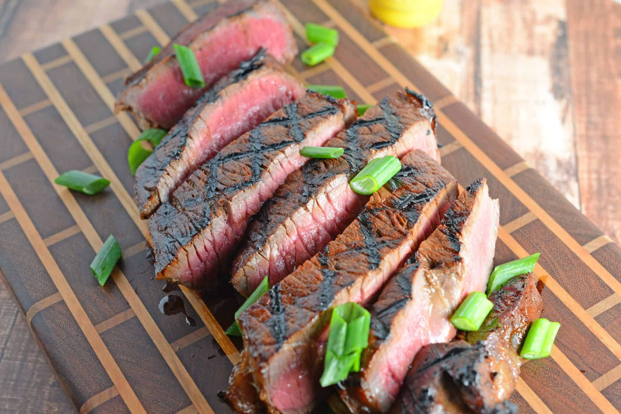 Honey Steak is one of the best beef on the grill recipes using an easy beef marinade. Plus... grilling steak tips!