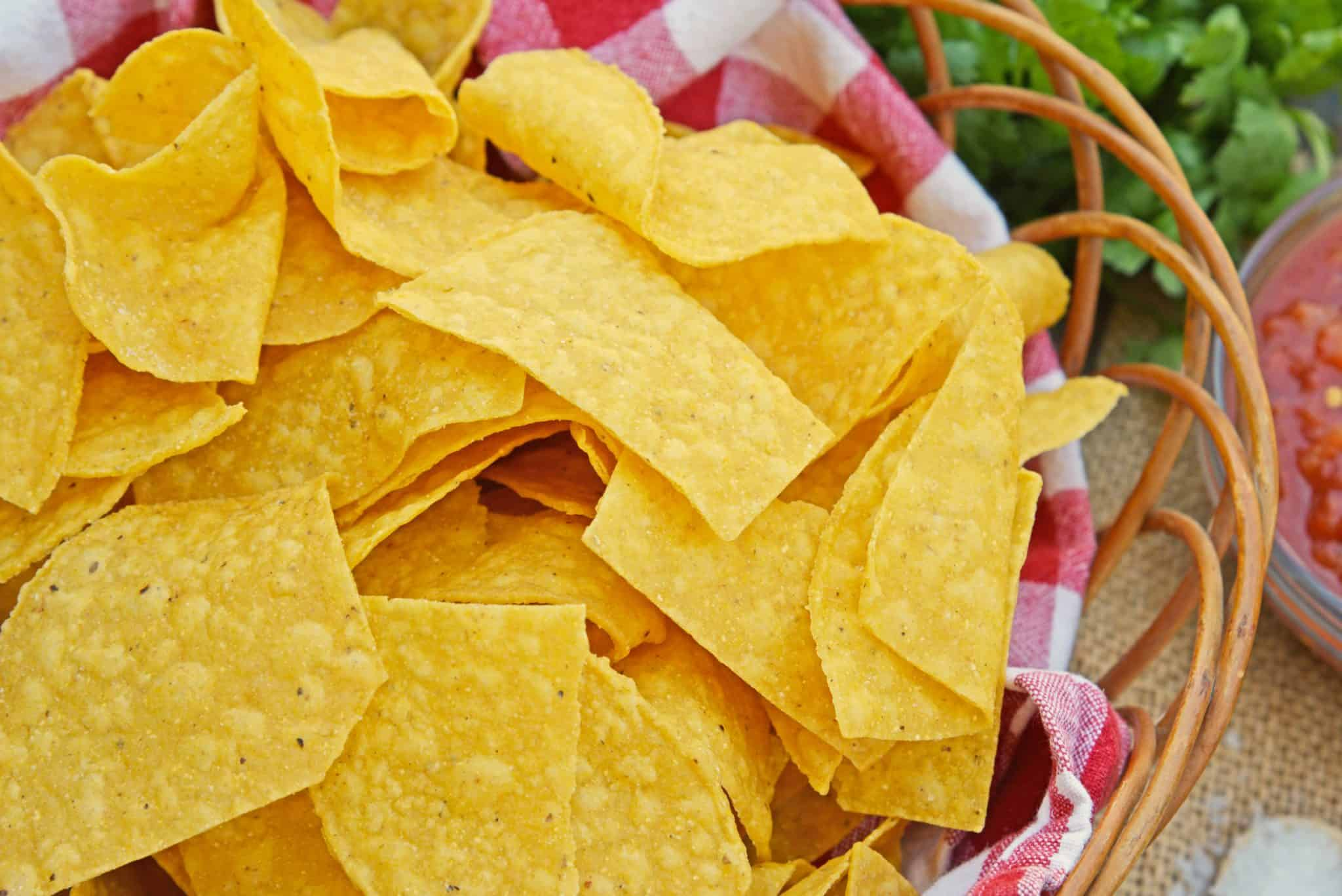 Can i make tortilla chips out of corn tortillas