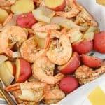 Balsamic Steamed Shrimp