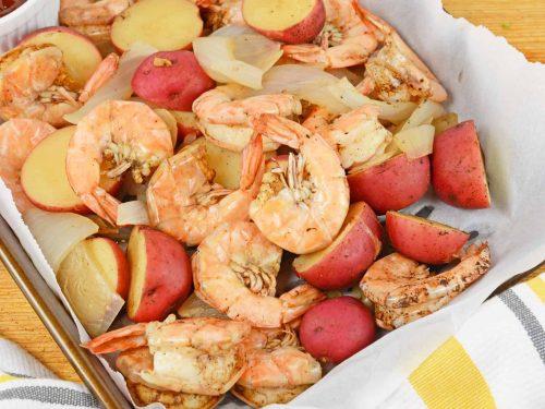Balsamic Steamed Shrimp Amped Up Steamed Shrimp Recipe