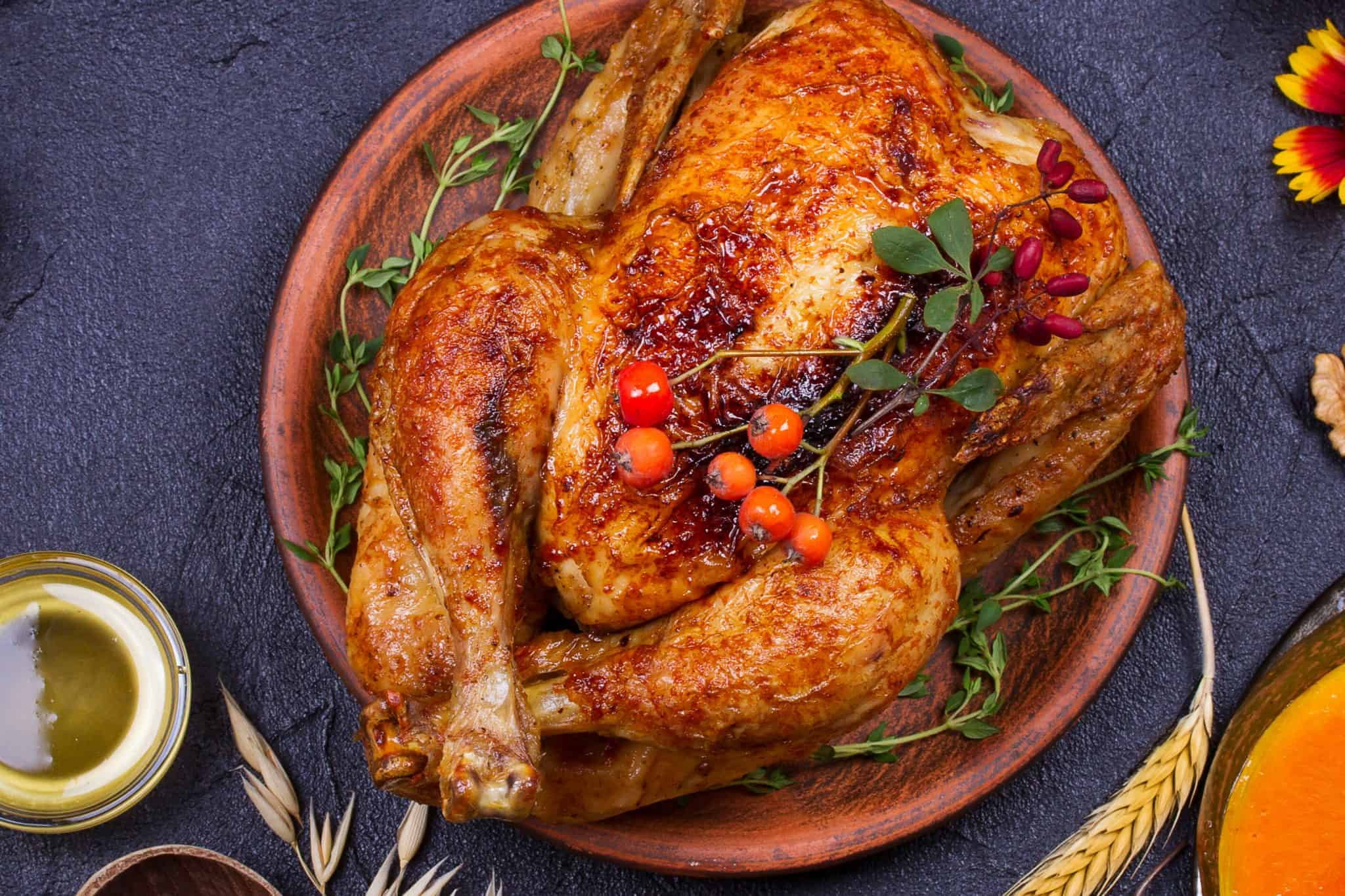 Have you ever wondered how to fry a turkey? Here are easy step-by-step instructions that can be used with any fried turkey recipe. #howtofryaturkey #friedturkeyrecipe www.savoryexperiments.com