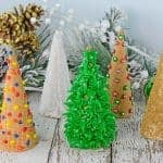 Christmas Tree Cake Cones