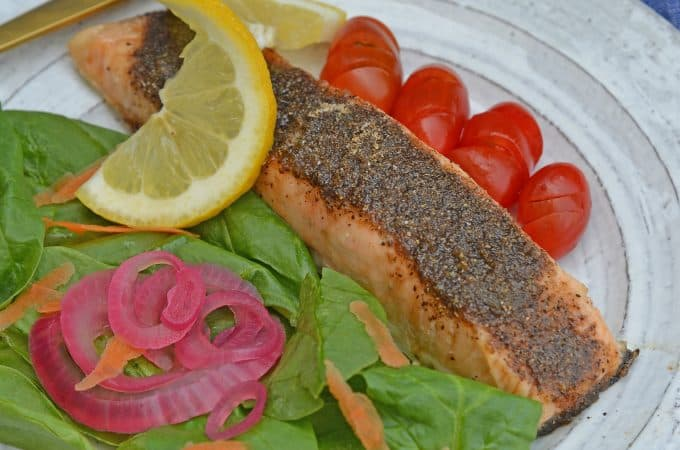 Pastrami Salmon Rub