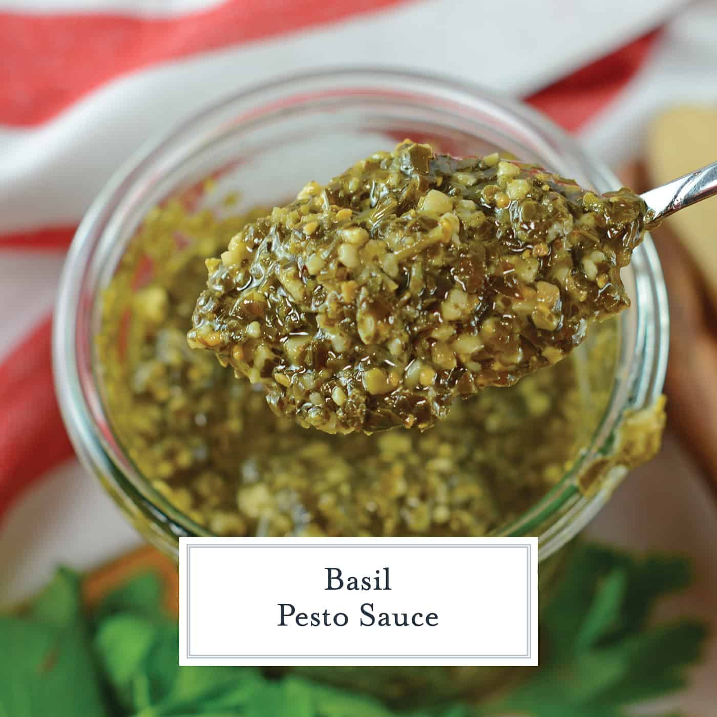 Pesto Sauce is the most adaptable recipe out there! Basil pesto sauce is perfect as a pasta sauce, marinade, sandwich spread or even dipping sauce! #pestorecipe #basilpesto #pestosauce www.savoryexperiments.com