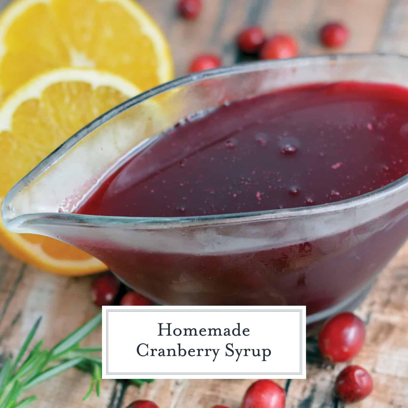 Ruby Red Cranberry Syrup is a tartly sweet flavored syrup that will wake up your taste buds! Serve for breakfast or dessert! #cranberrysyrup #homemadesyrup #flavoredsyrup www.savoryexperiments.com