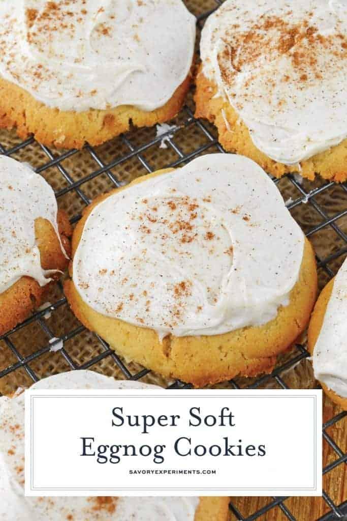 Eggnog Cookies for Pinterest