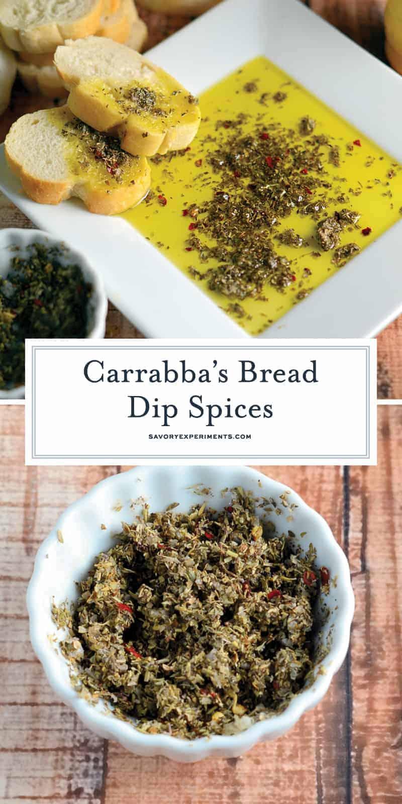 Olive Oil Bread Dip for Pinterest