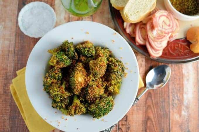 Crunchy Baked Broccoli