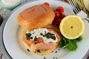 Ultimate Salmon Sandwich