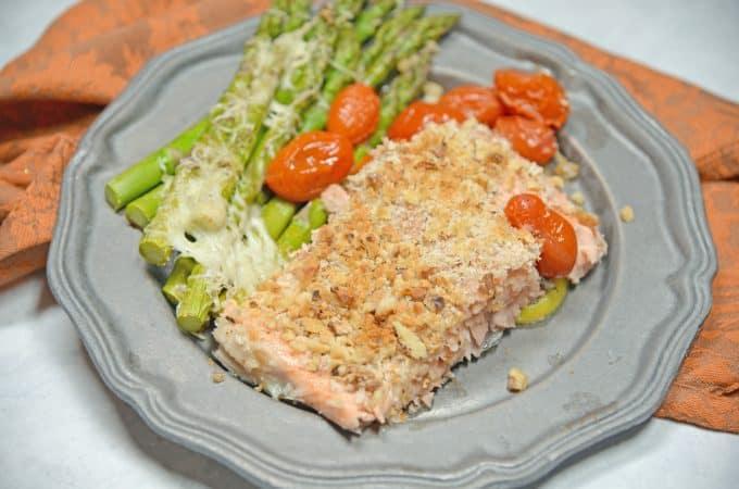 Sheet Pan Crispy Salmon