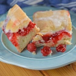 Cherry Pie Bars are the perfect summer dessert for BBQ's, potlucks and parties! Easy to make, easy to transport and easy to devour!