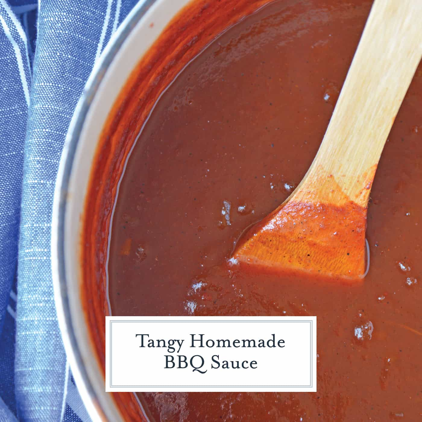 Homemade BBQ Sauce is an easy recipe that you can make at home! All you need is some ketchup, onion, lemon juice, Worcestershire sauce, vinegar, and spices! #BBQsauce #homemadeBBQsauce #bestBBQsaucerecipe www.savoryexperiments.com