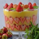 Strawberry Pudding Trifle