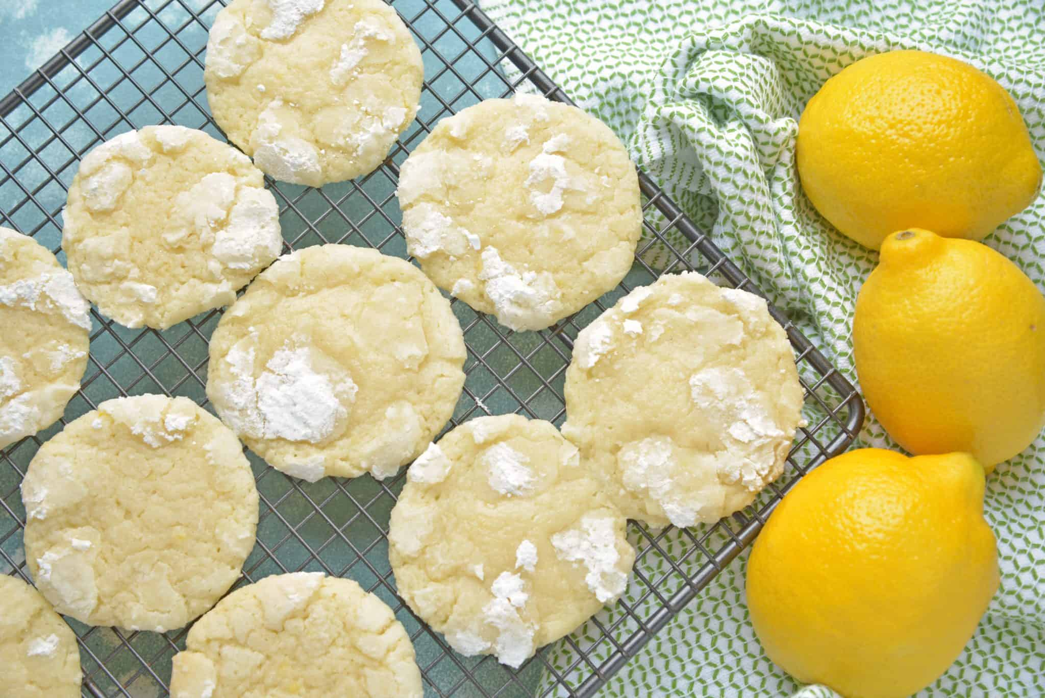 Lemon Cooler Cookies, also known as Sunshine Lemon Coolers, are a classic cookie recipe using fresh lemon and powdered sugar. #lemoncoolercookies #lemoncoolers #lemoncookies www.savoryexperiments.com