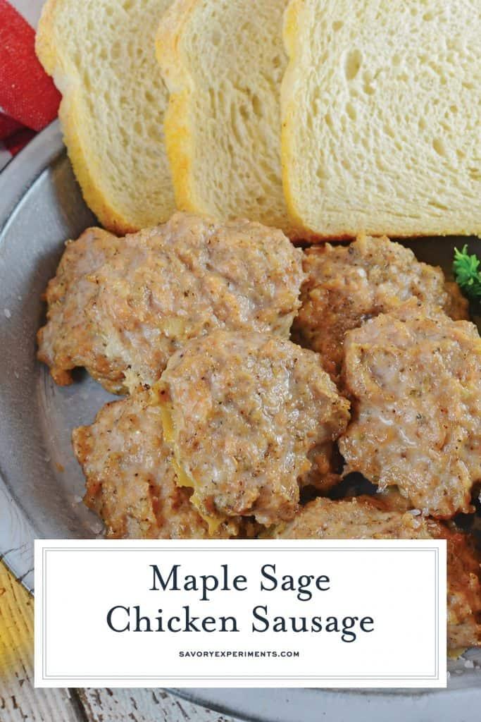 Maple Chicken Sausage