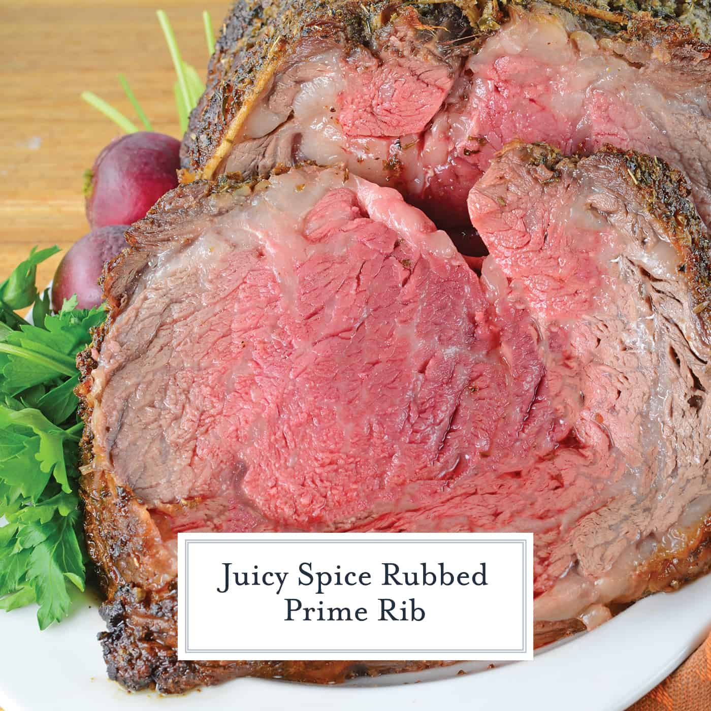 Prime Rib, or rib roast, is the king of all holiday meals. Studded with garlic and rubbed with spice mix to create a flavorful bark, this is the best prime rib recipe you will ever eat! #primeribrecipe #howtomakeprimerib www.savoryexperiments.com