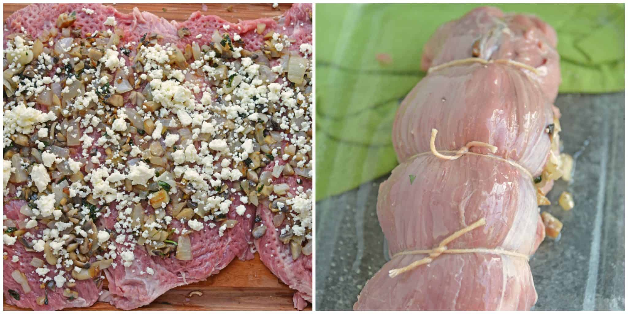 how to cook stuffed flank steak pinwheels