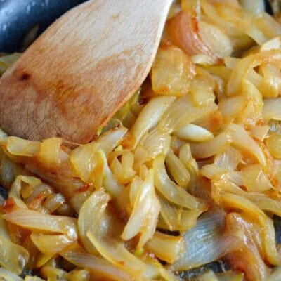 "How to Caramelize Onions - they are not simply sauteed onions, learn how and why they are ""caramelized""."