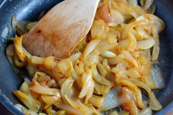 """How to Caramelize Onions - they are not simply sauteed onions, learn how and why they are """"caramelized""""."""