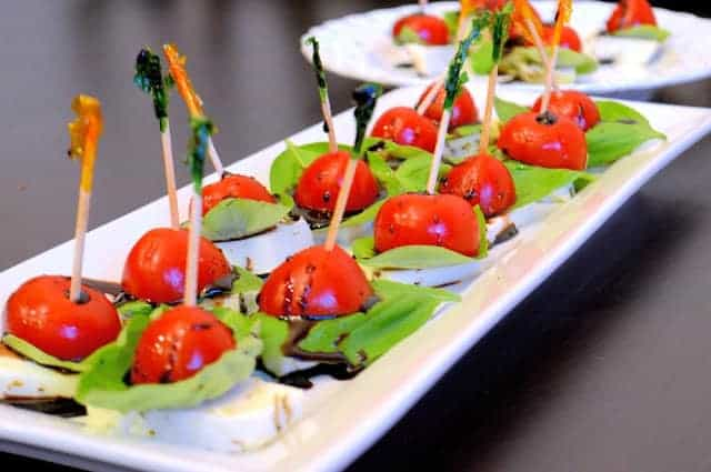 caprese salad bites savory experiments. Black Bedroom Furniture Sets. Home Design Ideas