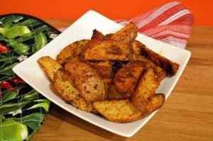 Mexican Potato Wedges