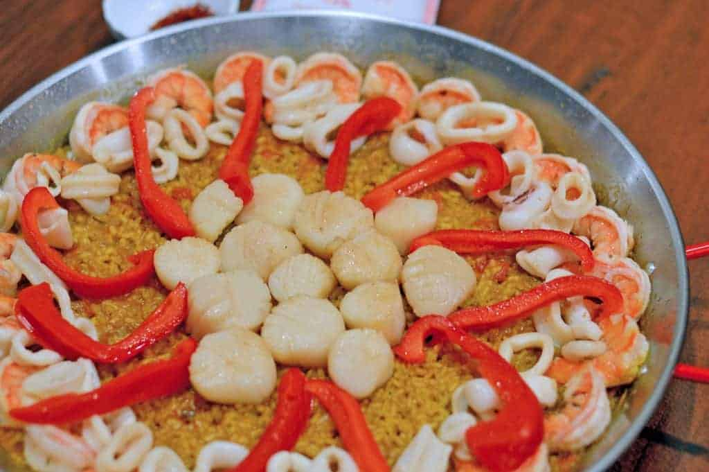 If you're a seafood lover, you'll adore this paella. My Classic Seafood Paella recipe gives you an easy, step-by-step paella for the paella novice.