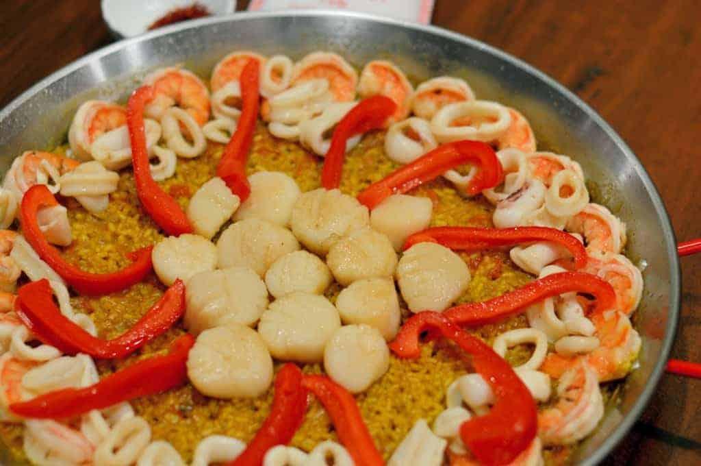 Classic Seafood Paella | Savory Experiments