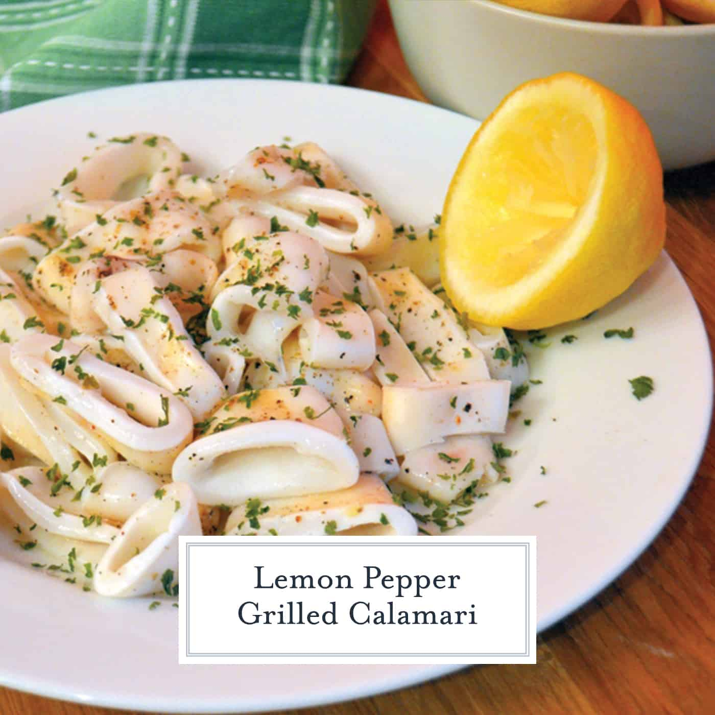 Lemon Pepper Grilled Calamari brings the flavors of the sea right to your dinner table. You won't be disappointed by this mouth-watering recipe.