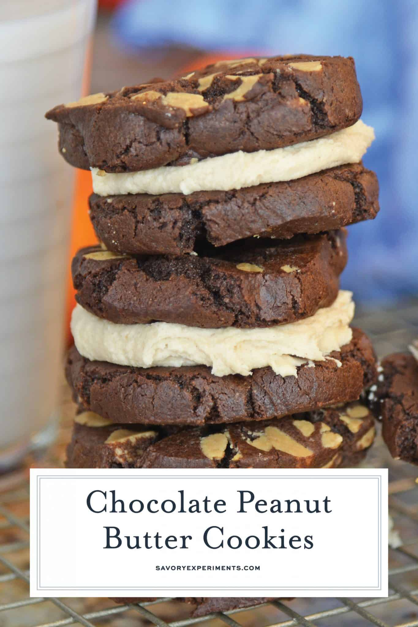 Recipe: Peanut Butter and Chocolate Sandwich Cookies ...