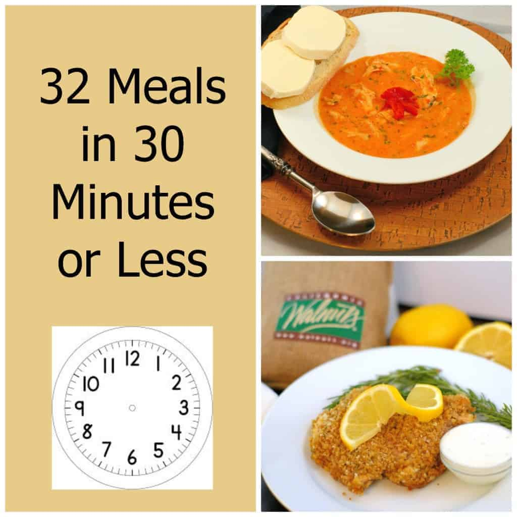 32 Meals In 30 Minutes Or Less