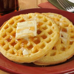 Homemade Waffles is a classic recipe that has an additional 13 ideas for fun variations. The perfect Sunday breakfast. #homemadewaffles #wafflerecipe www.savoryexperiments.com