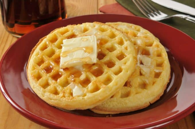 Classic Waffle Recipe with 13 Variations