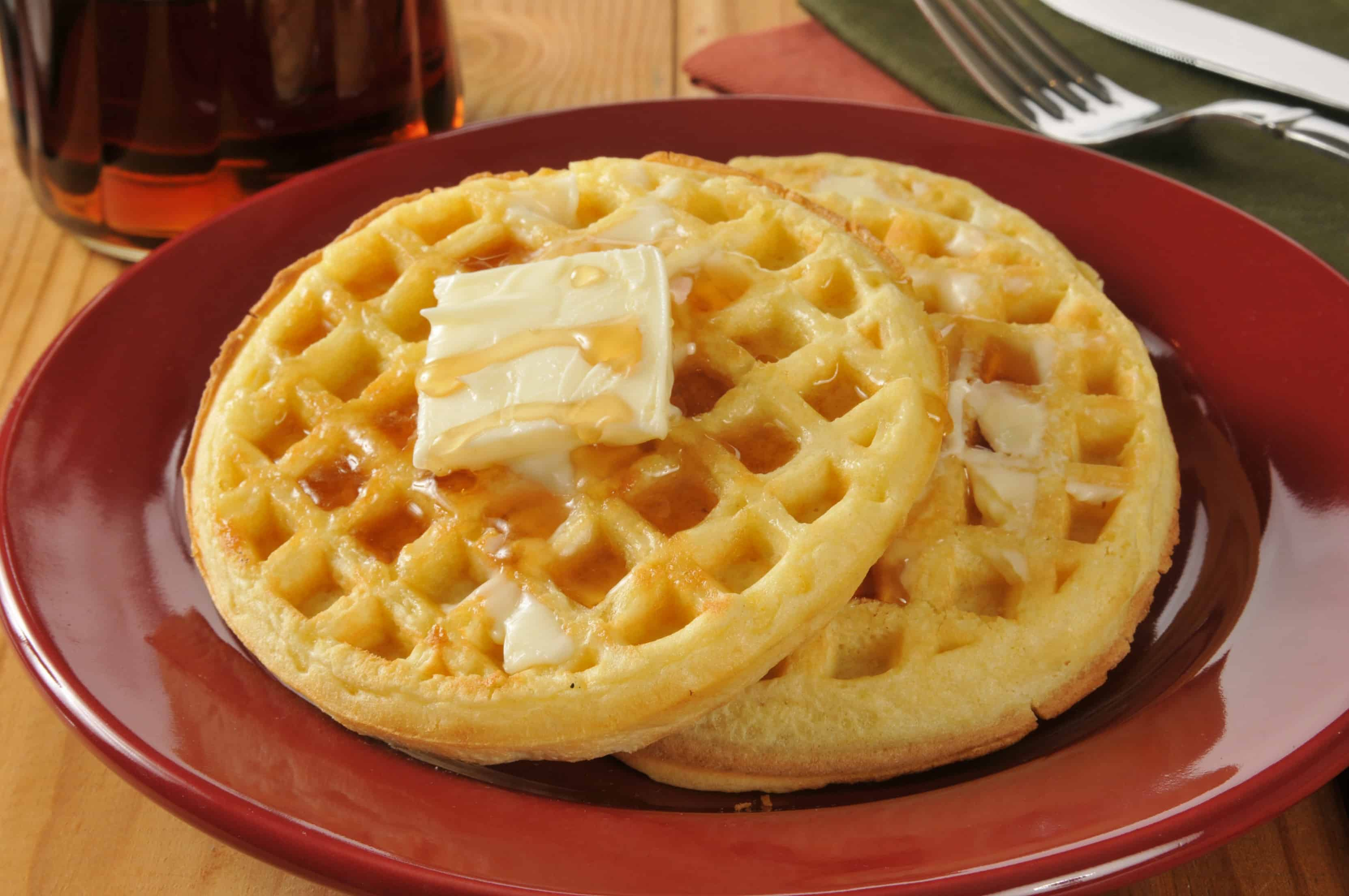 A classic waffle recipe with 13 waffle variations.