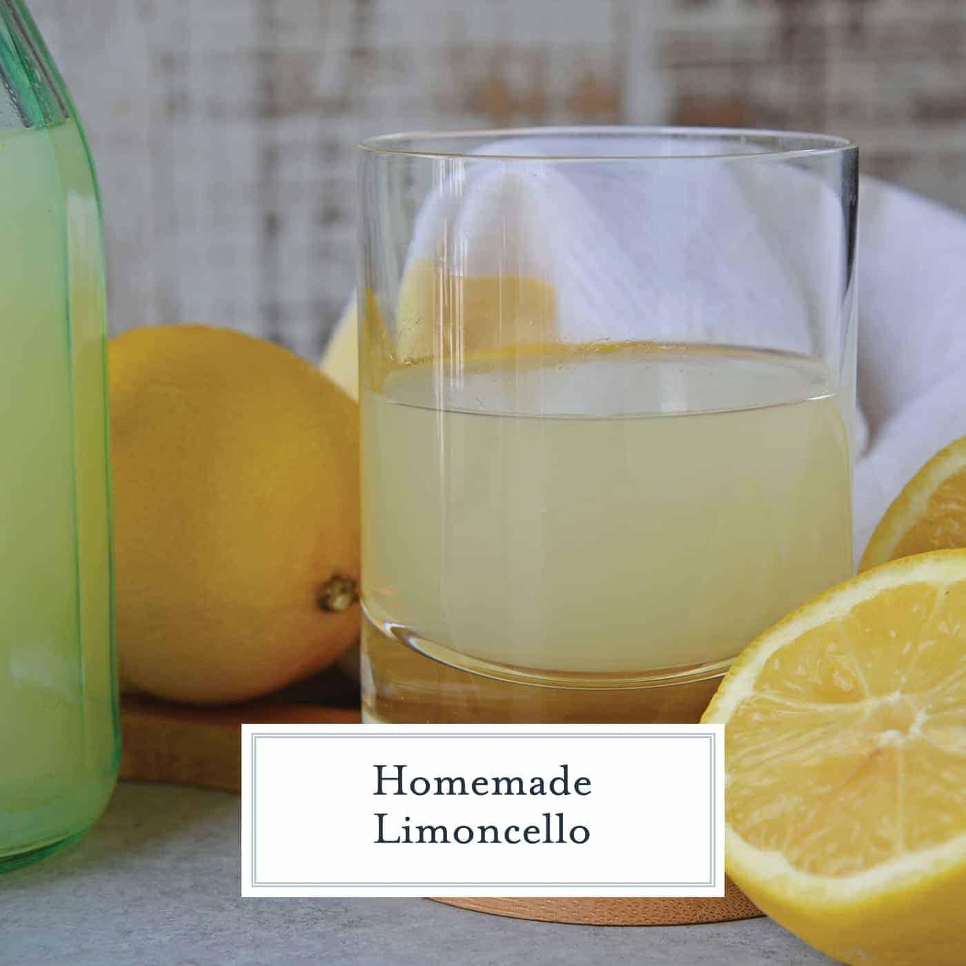 Limoncello and Lemon