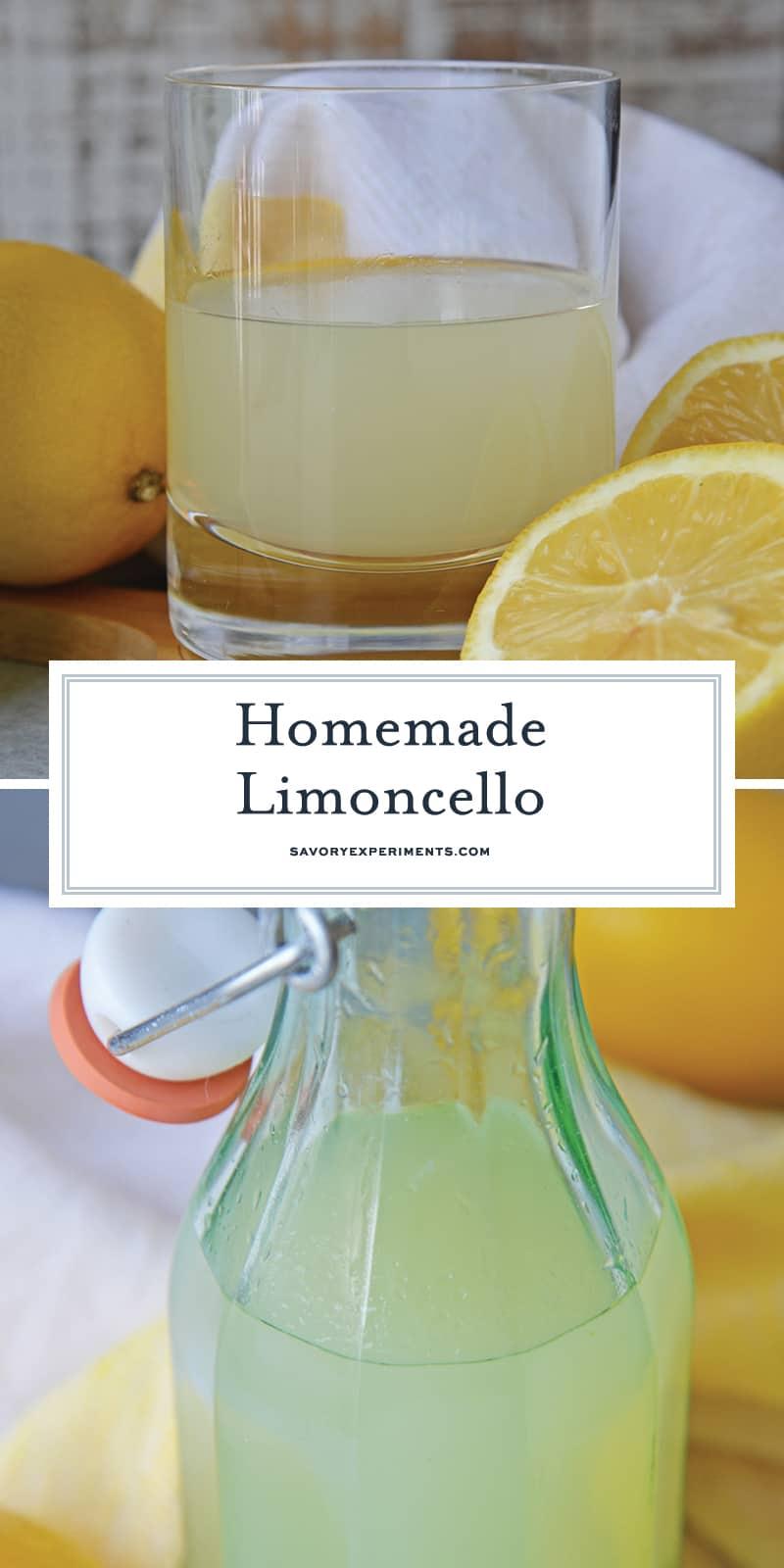 homemade limoncello for pinterest