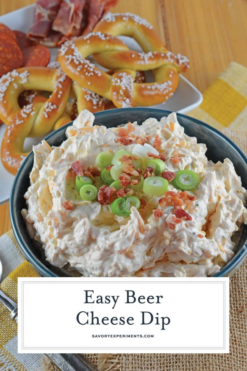 Beer cheese dip for pinterest