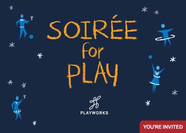 Join the Fight Against Bullying with Playworks Baltimore at the Soiree for Play