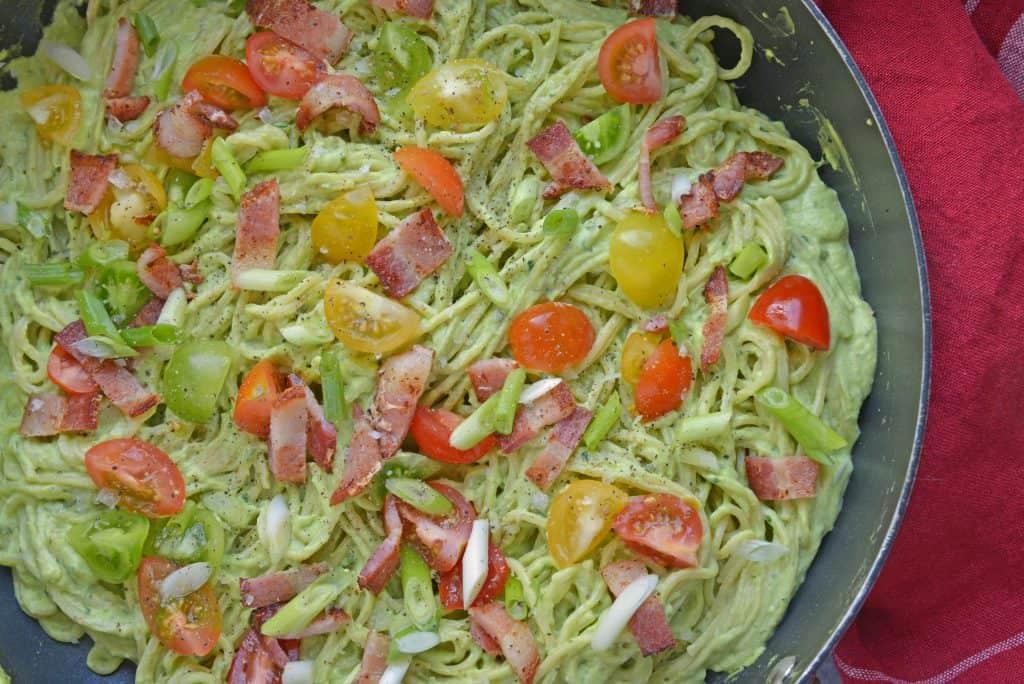 Creamy Avocado Pasta Sauce - Healthy Alfredo Sauce