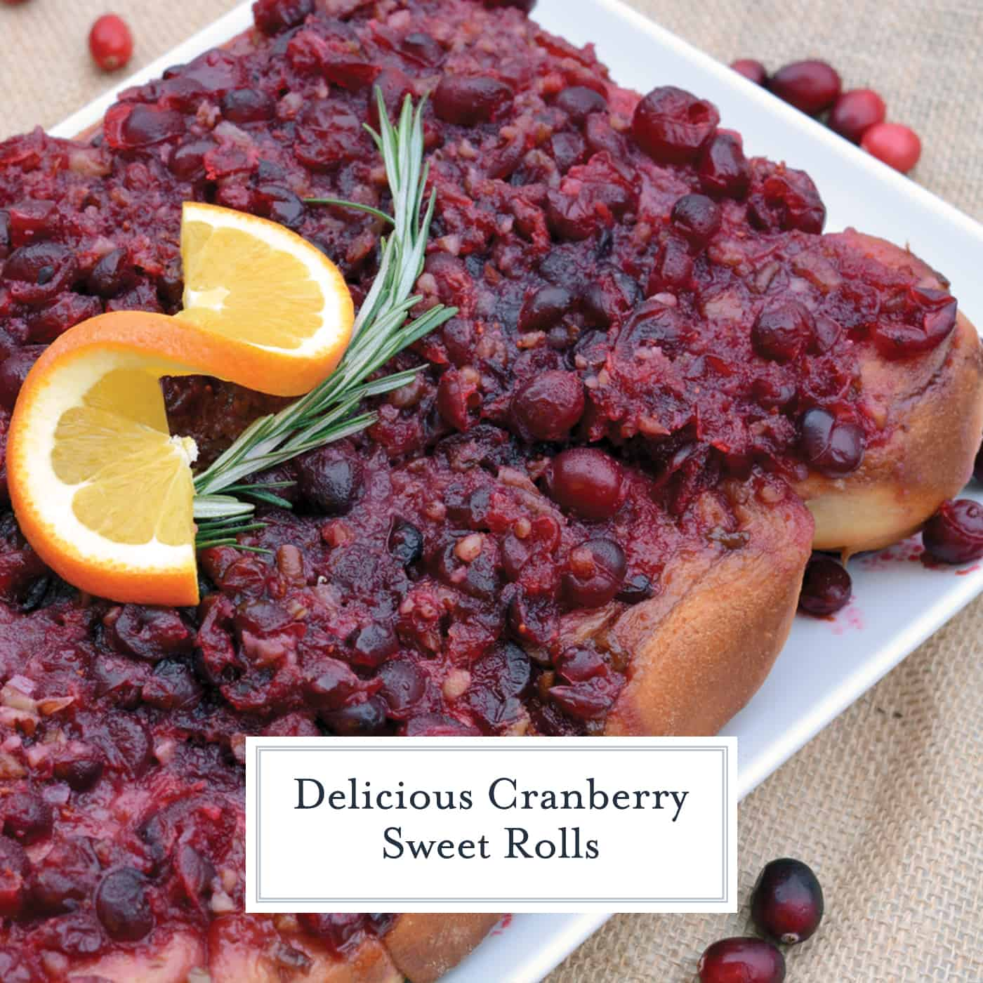 Cranberry sweet rolls are perfect for any holiday breakfast or even dessert. Orange cranberry bread in sweet roll form is an award winning recipe! #cranberrysweetrolls www.savoryexperiments.com