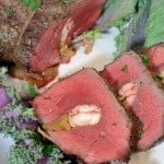 Crab Stuffed Beef Tenderloin