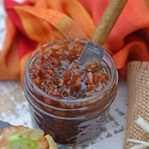 Bourbon Bacon Jam close up