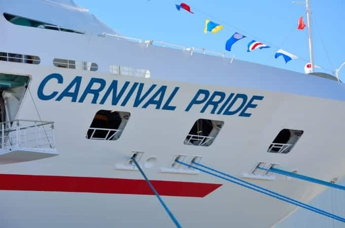 The Carnival Pride Returns to Baltimore