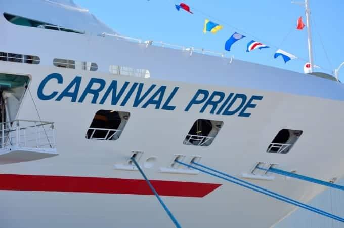 The Carnival Pride Returns to Baltimore