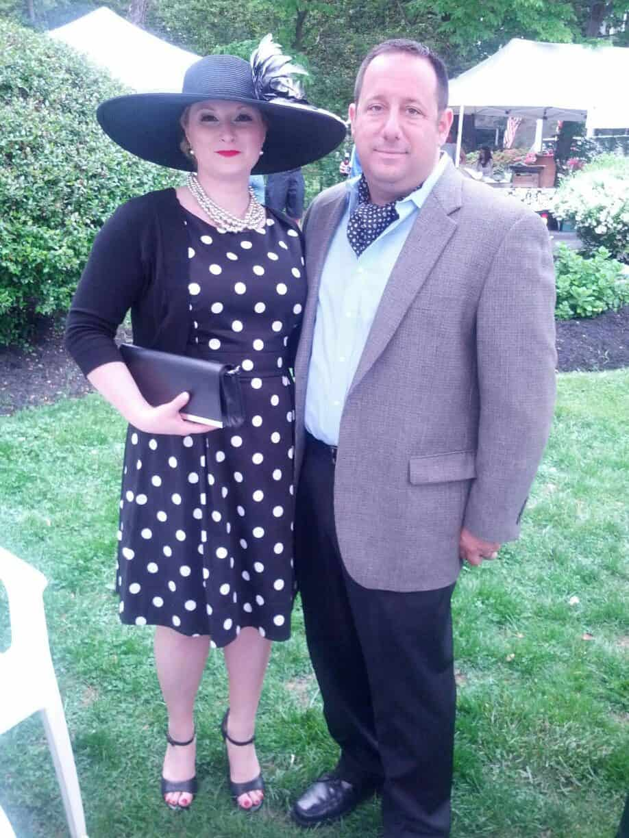 couple at preakness