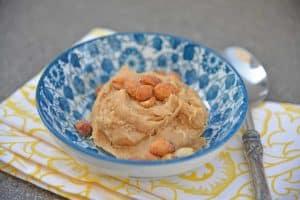 Single Serve Peanut Butter Cookie Dough