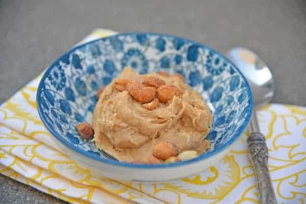 Single Serve Peanut Butter Cookie Dough