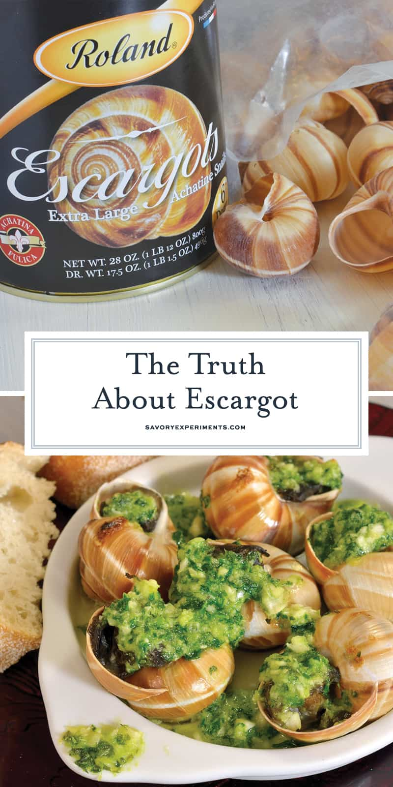 Escargot aren't nearly as difficult to make at home as you might think. Here are a few tips on how to make escargot! #escargot #howtomakeescargot www.savoryexperiments.com