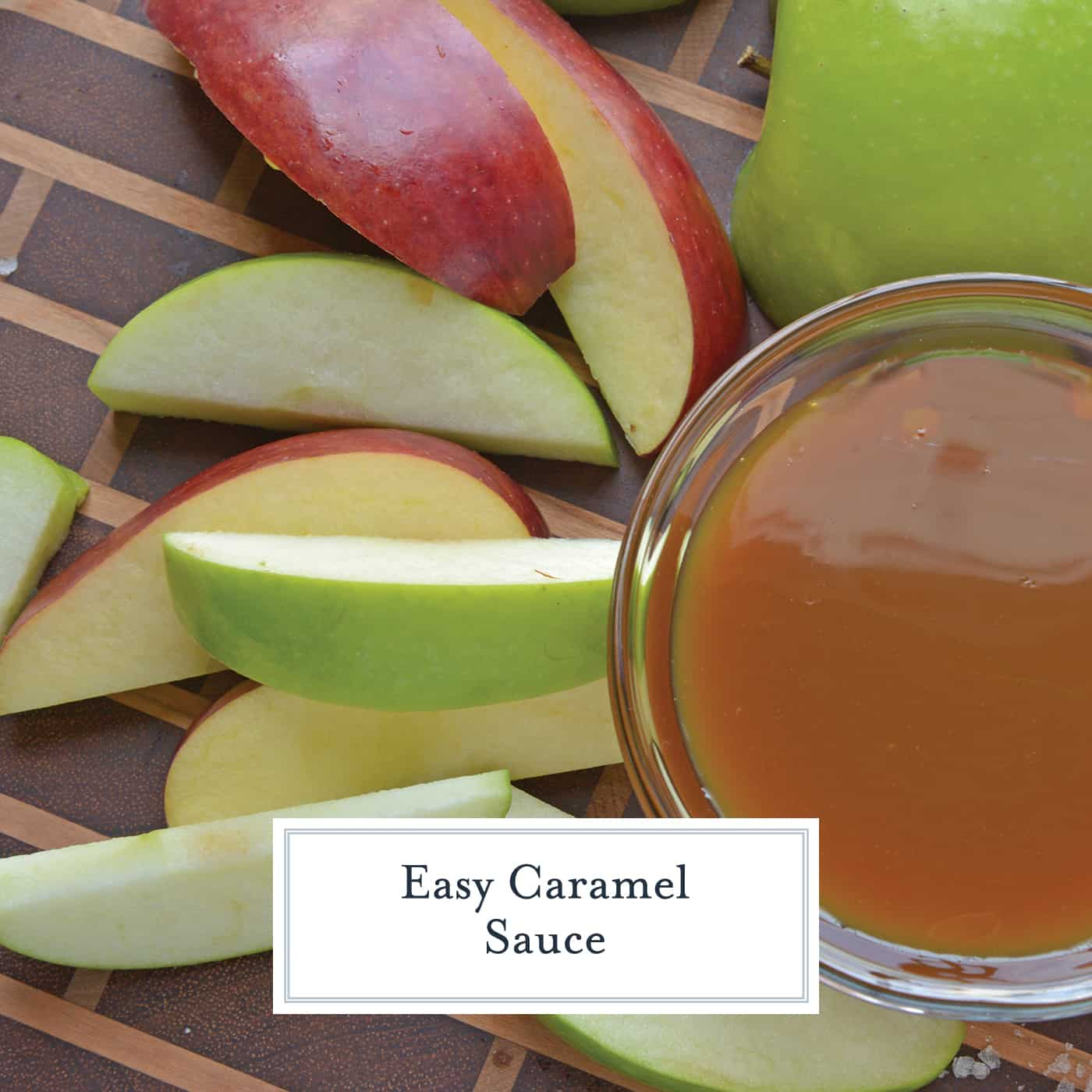 Easy Caramel Sauce comes together in just 15 minutes with only 5 ingredients. Use it in any recipe that calls for caramel! #howtomakecaramel #caramelsauce www.savoryexperiments.com