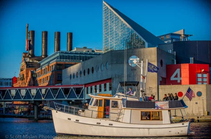 Sail Baltimore in Style on Art's Cruises